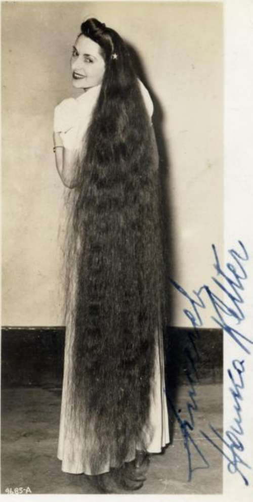 12 year old girl with longest hair 5 feet 2 inches long