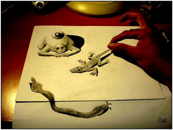 965020Incredible and Scary 3D Pencil Drawings 11