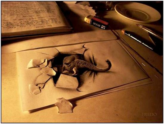 965020Incredible and Scary 3D Pencil Drawings 13