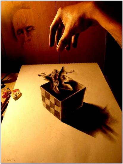 965020Incredible and Scary 3D Pencil Drawings 15