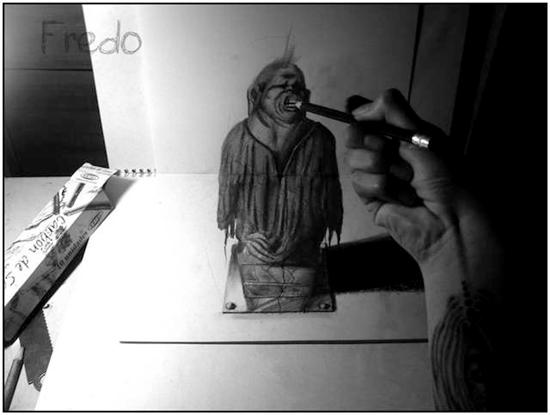 965020Incredible and Scary 3D Pencil Drawings 16