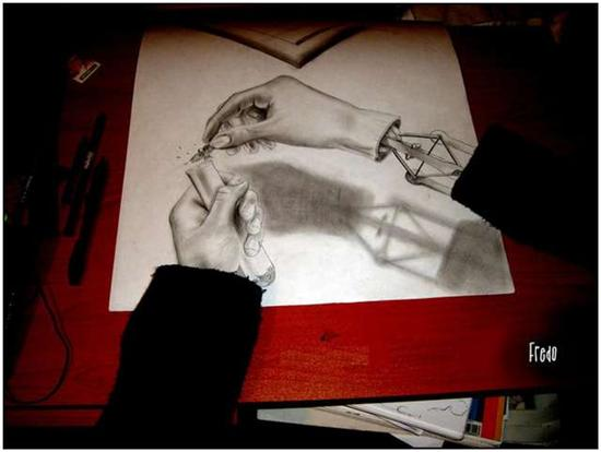 965020Incredible and Scary 3D Pencil Drawings 3