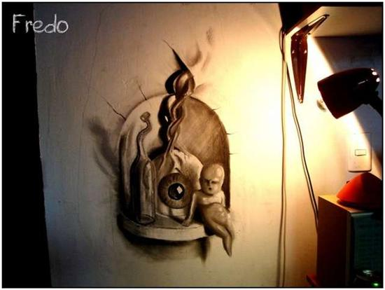 965020Incredible and Scary 3D Pencil Drawings 5