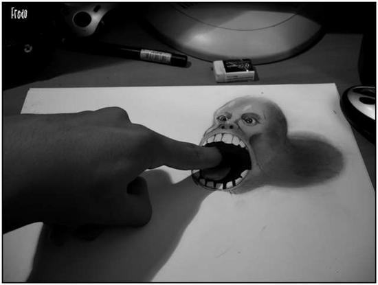 965020Incredible and Scary 3D Pencil Drawings 8